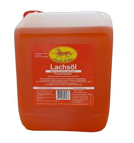 Kaltgepresstes Lachsöl - 5Liter