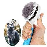 Katzenbürste, Katzenburste Selbstreinigend Zupfbürste Entfernt Unterwolle...